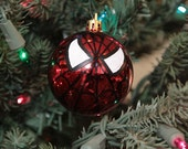 Spiderman Hand Painted Christmas Ornament