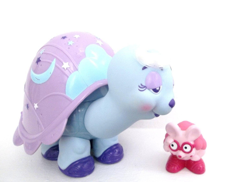 Keypers Turtle Toy With Finder Friend Vintage 1980s Tonka