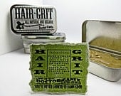 Hair Grit - All Natural and Organic - Hair Product - Pomade - Styling Wax- By Doctor GaniX - Big Tin