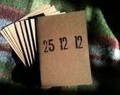 Minimal Letterpress Christmas Card - PACK OF 5 CARDS