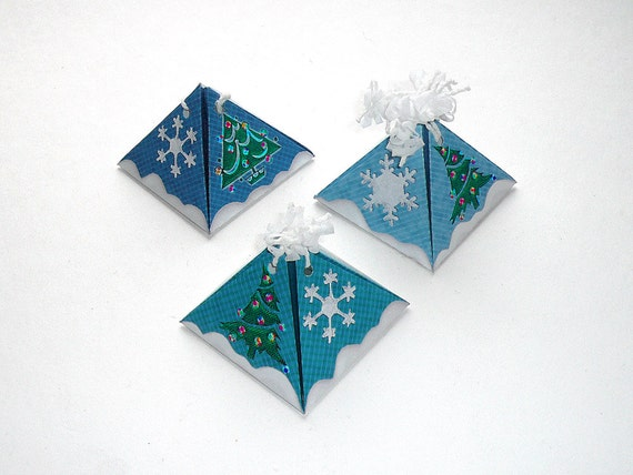 items similar to diy christmas pyramid gift boxes tree