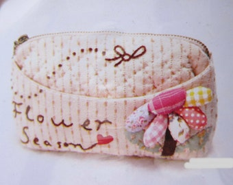 DIY Craft Kit Purse Wallet Sewing Kit with free sewing pattern, Easy sewing project, ShineKidsCrafts