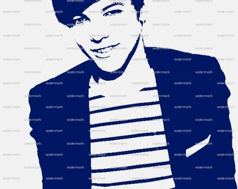 One Direction Louis Tomlinson Matted Print