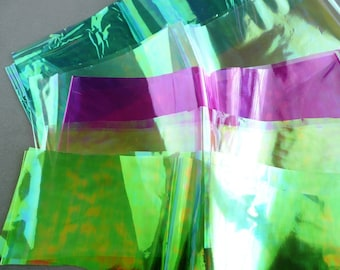 Dichroic films for polymer clay applications