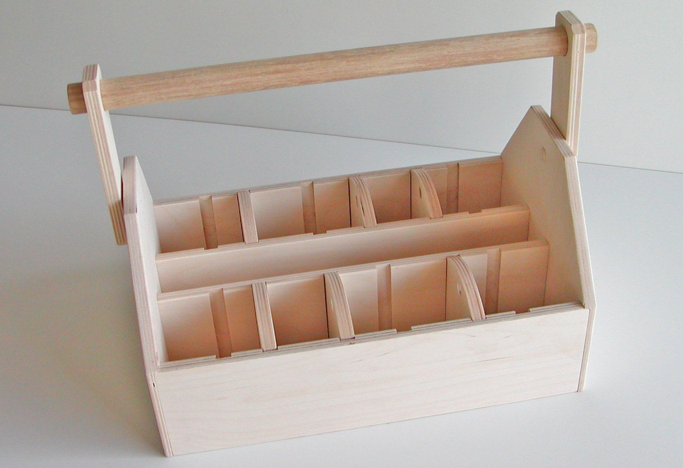 Wood Tool Box Caddy
