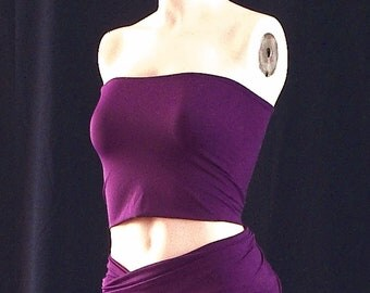 LARGE BANDEAU (Tube Top), made to match bridesmaid dress, plus size bandeau, convertible dress, extra large tube-top, matching boob tube