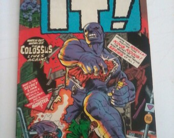 Marvel comics Vintage Astonishing Tales featuring IT - 1970s collectible comic