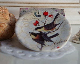 Nature Dollhouse Plate