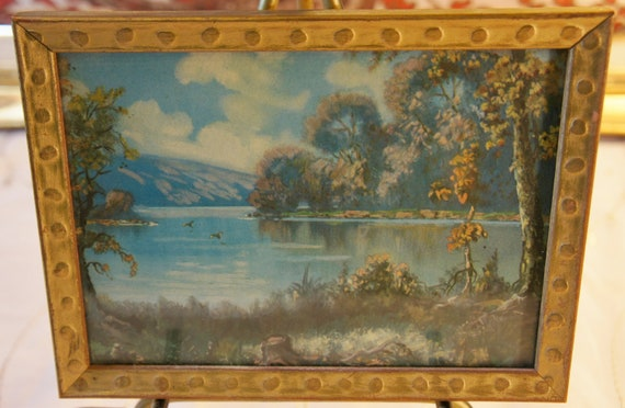 vintage Lambert Product landscape picture for home cabin camper 5x7
