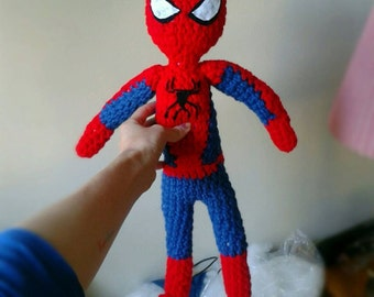 FREE SPIDERMAN DOLL KNITTING PATTERN - VERY SIMPLE FREE ...