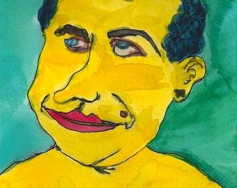 Portrait Postcard Set