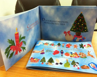 Christmas Letters, Illustrated Children's Christmas Book.