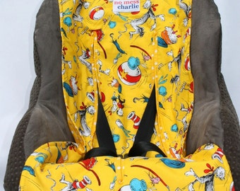 Sunny Seuss Baby Car Seat Liner