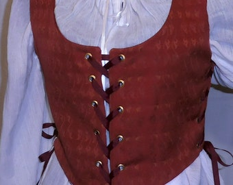 Lady's Renaissance, Celtic, Pirate, Midieval, Steampunk Bodice Large Only!