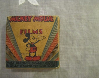 Vintage 16mm Mickey Mouse Films