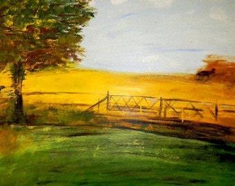 Summer Scent Landscape