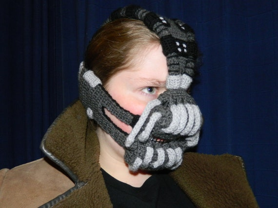 Crocheted Bane Mask (The Dark Knight Rises, 2012)