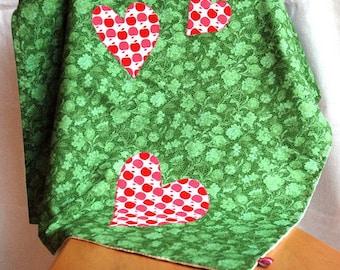Baby blankets / baby blanket green / couverture de bébé