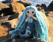Ocean, the Wave Mermaid - Cute Mermaid Plushie