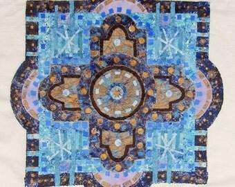 Blue Cross Mandala