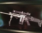 SCAR 17 rifle CAT scan gun pri...
