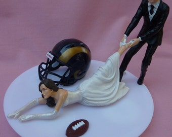 wedding cake toppers dallas tx wedding cake topper dallas cowboys football themed by wedset 26447