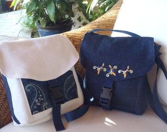 Blue Denim Messenger bag, Cross body Bag Handmade,  Ladies Messenger Bag, Denim bag, Gift For Her, Mothers Day Gift