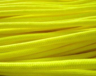 10 feet - 550 Paracord - Neon Yellow