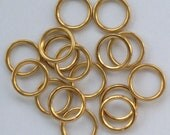 35mm Hollow brass rings for making Dorset Buttons