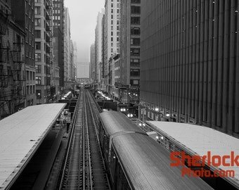 Chicago Loop view of Urban Canyon - Image 02212