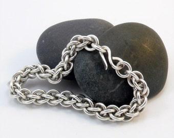 Argentium Silver Bracelet - Jens Pind Weave