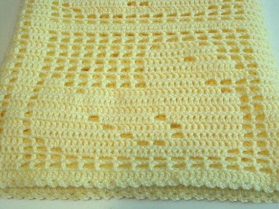 Filet Crochet Baby Afghan Patterns Free Pakbit For
