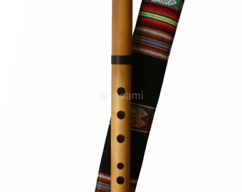 Professional Ramos Quenacho Flute in C (Do) and Case