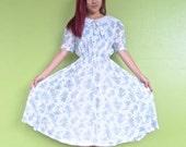 Size S - AU Size 8-10 Vintage Japanese Dress