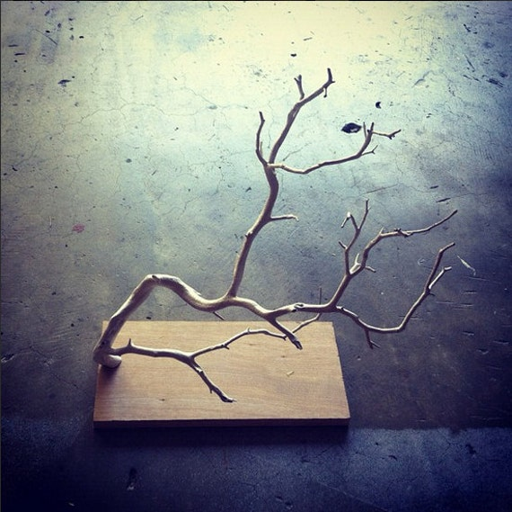 Items Similar To Jewelry Tree Stand Branch Display On Etsy