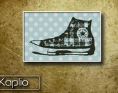 Gumshoes Cross Stitch Pattern [PDF FILE]