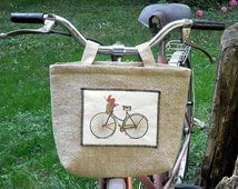 Bicycle bag/ Handlebar bag/ Stroller bag/ LunchBag/ Tote Bag/ Vintage Bag