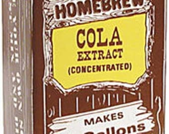 Old Fashioned Homebrew Cola Soda Pop Extract