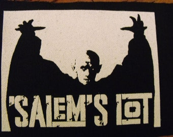 SALEM'S LOT patch vampire horror scary Free Shipping