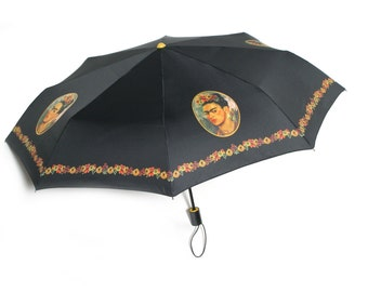 "Frida Kahlo Umbrella - ""La Frida"" by Sombrilla Sister"