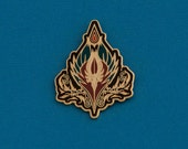 Blood Elf Crest Pin Badge Brooch inspired by World of Warcraft