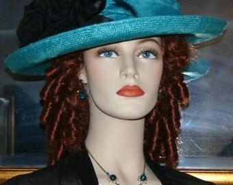 Edwardian Hat Church Hat Easter Hat Downton Abbey Hat Roaring Twenties Hat Gatsby Hat Downton Abbey Hat - Lady Charmaine