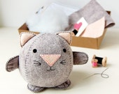 Make Your Own Kitten Toy Craft Kit - Sewing Kit