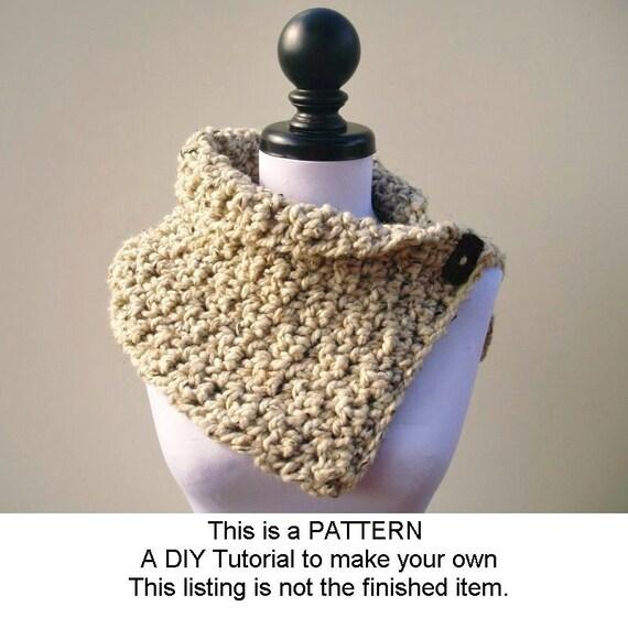 Instant Download Crochet PATTERN PDF - Lucienne Cowl - Crochet Cowl Pattern Crochet Scarf Pattern Womens Cowl Pattern Womens Accessories