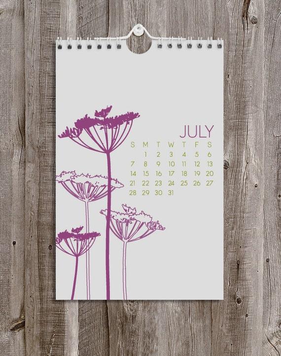 Calendar / 2013 Botanical Wall Calendar