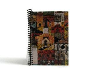 Village Churches - Notebook Spiral Bound - 5x7in