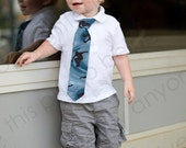 Little Boys, Skater Tie, Skateboard, Sports, Black, Blue