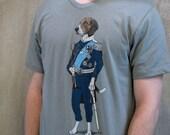 Regal Beagle Shirt - Dog Shirt - Beagle Gift - Dog Lover T-shirt - Men's Graphic Tee - Screen Printed T-shirt