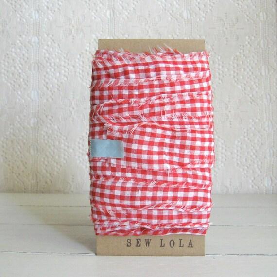 fabric ribbon - holiday cheer