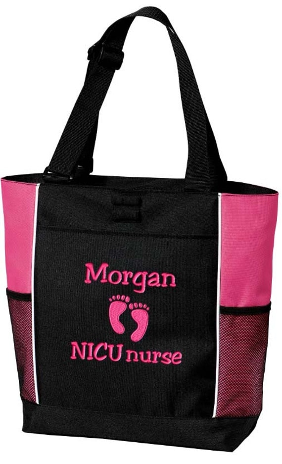 tote bag personalized er rn lpn nicu assistant